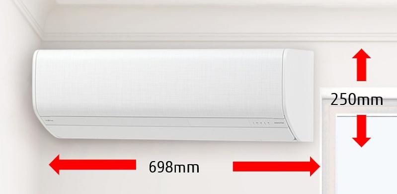 富士通ノクリアのSVシリーズはコンパクト設計。