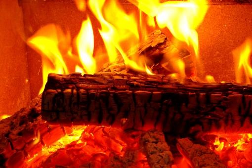 薪ストーブの暖房
