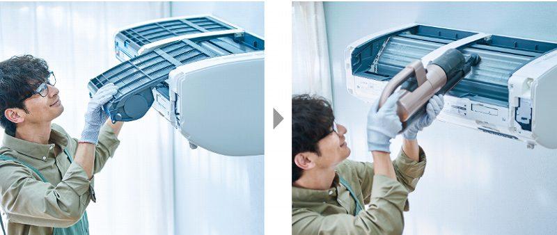 三菱電機の「霧ヶ峰」は自分で掃除しやすいエアコン