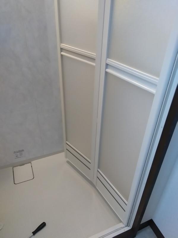 風呂の折り戸の外側の掃除方法