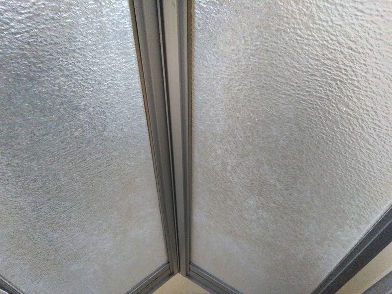 風呂のドア外側の掃除方法
